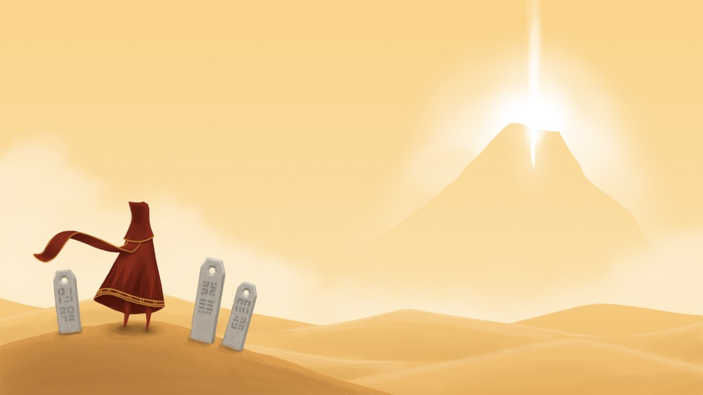 wallpaper from Journey (game)