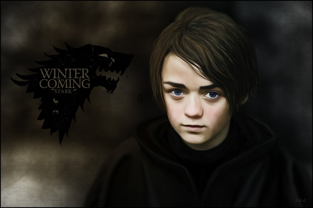 Arya Stark from HBO's Game of Thrones